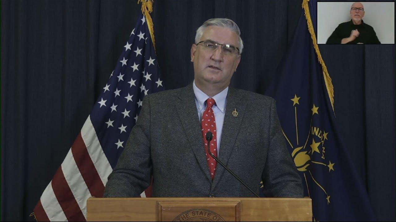Indiana Gov. reinstates some virus restrictions