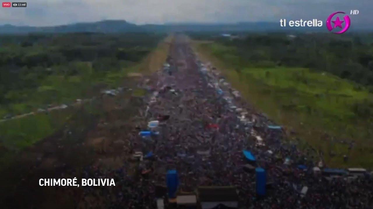 Evo Morales concluye caravana de tres días luego del exilio