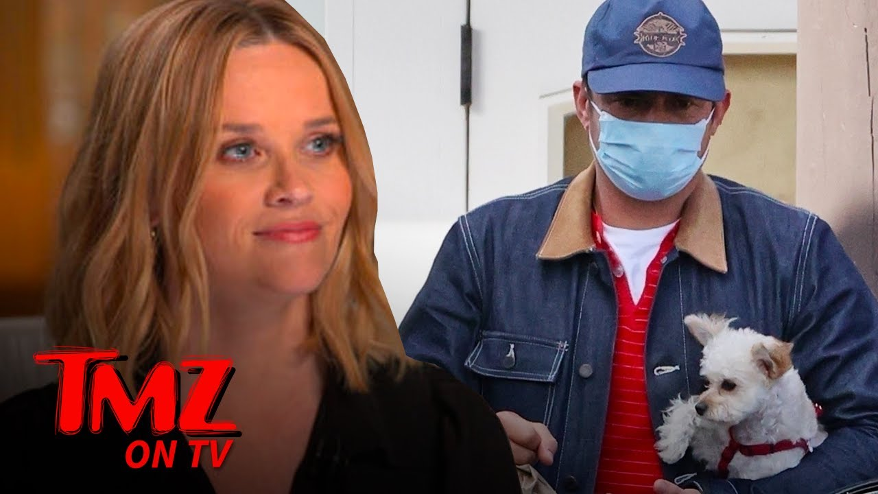 Orlando Bloom, Reese Witherspoon Show Off New Dogs! | TMZ TV