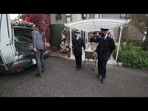Belgian funeral home full with COVID deaths