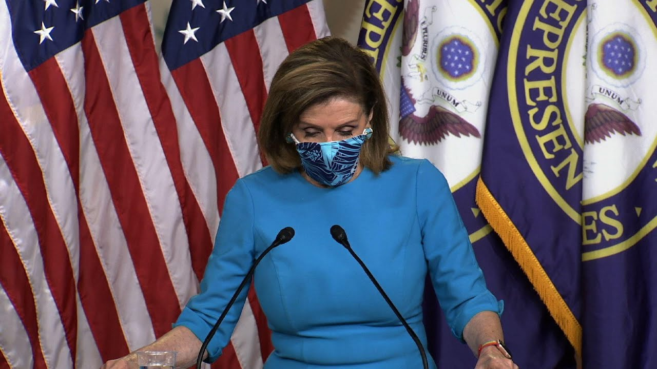 Pelosi: Pandemic is a 'red alert'