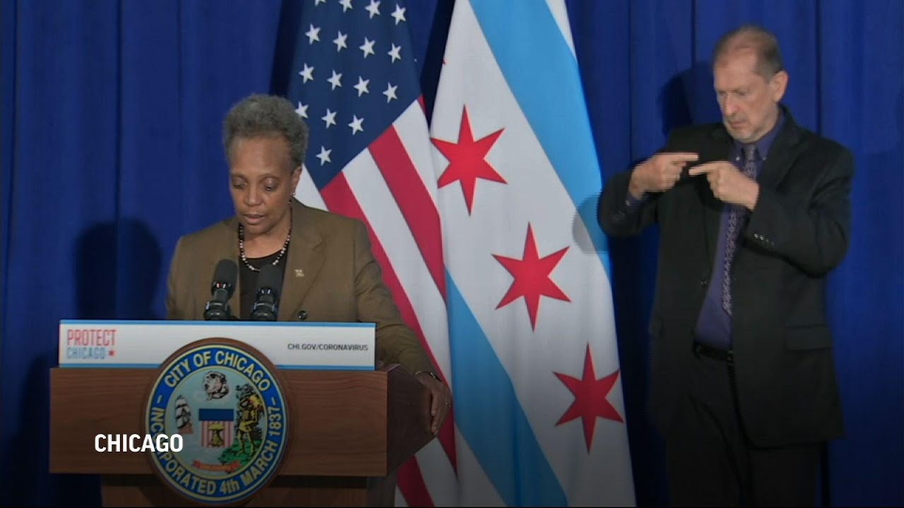 Chicago issues new restrictions amid COVID surge