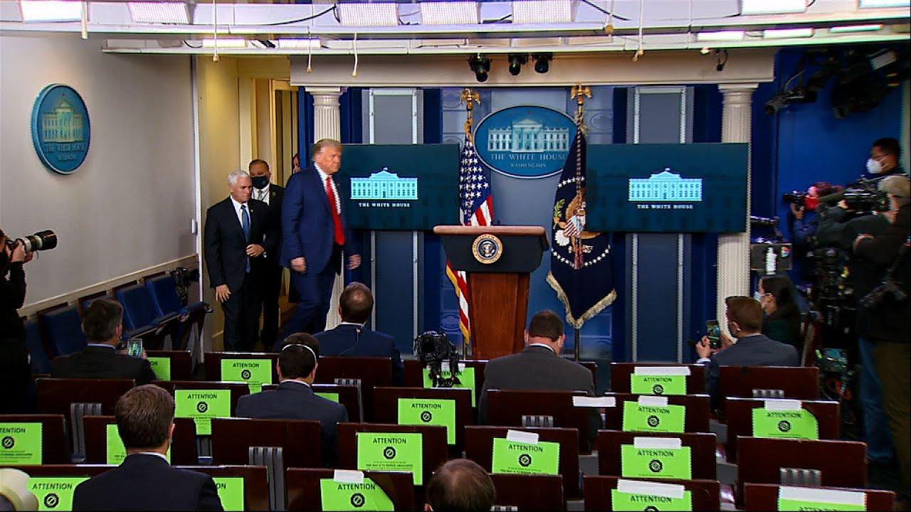 Trump congratulates country on historic Dow rally