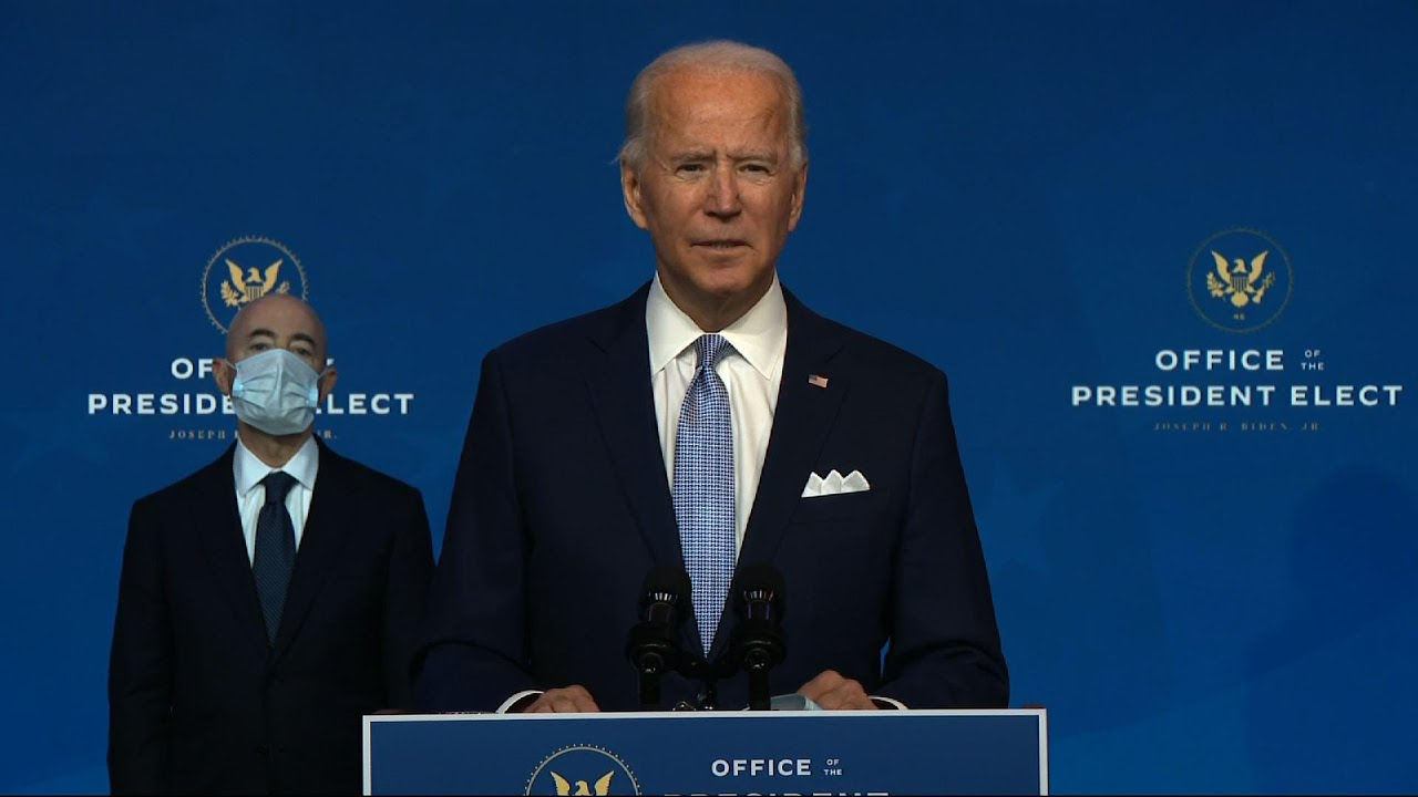 Biden calls on Senate to consider Cabinet promptly