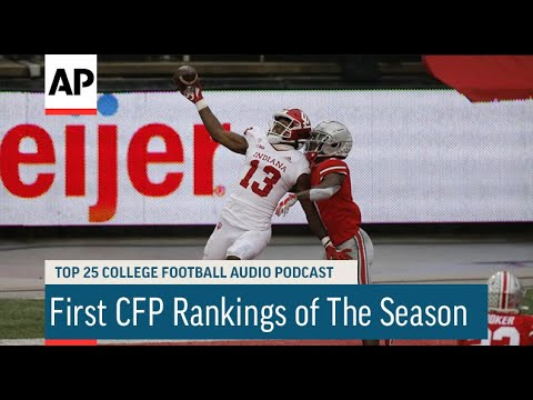 First CFP Rankings of The Season   AP Top 25 College Football Podcast