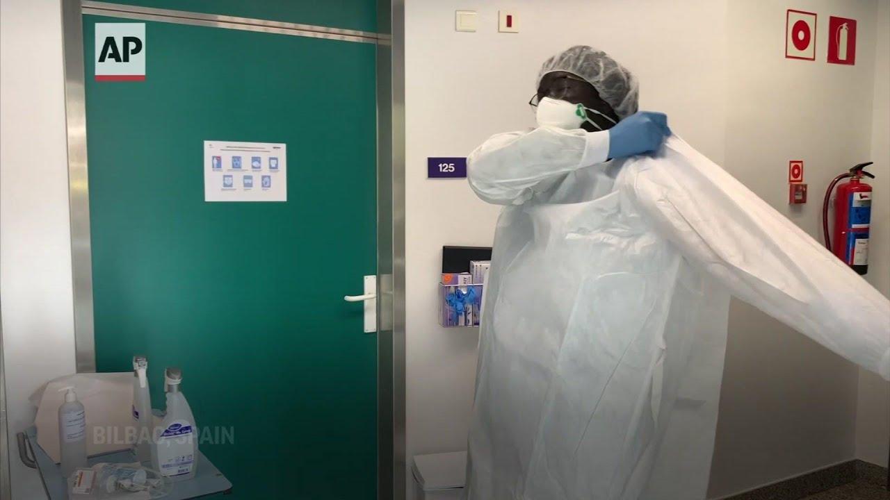 Senegal migrant turns COVID nurse, activist