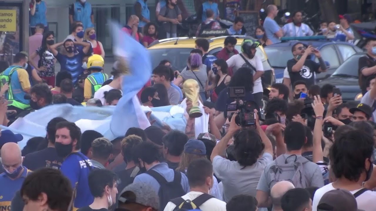 More reax from Buenos Aires to Maradona death