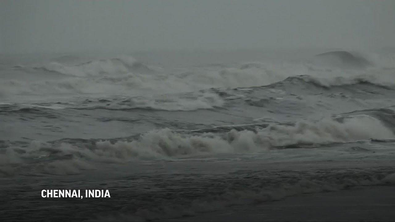 El ciclón Nivar llega a India con vientos de hasta 130 kilómetros por hora y provoca inundaciones