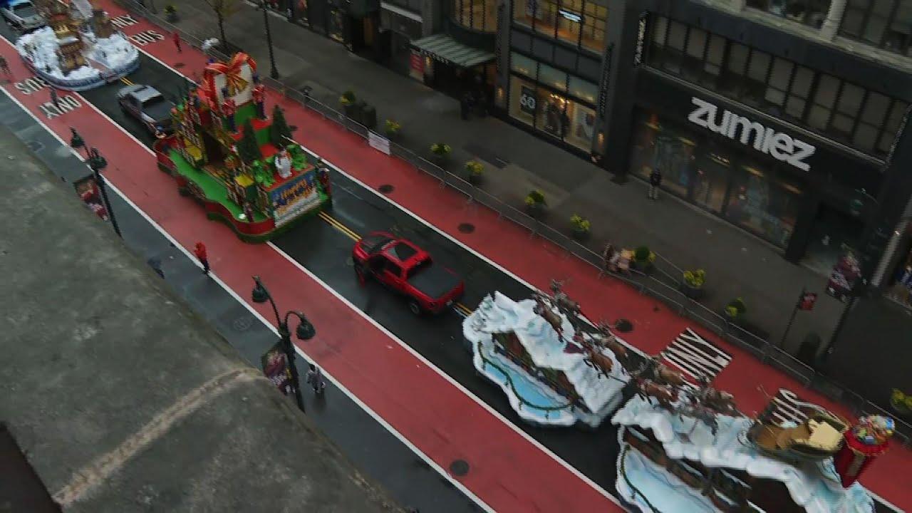 Virus means empty streets for Macy's NY parade