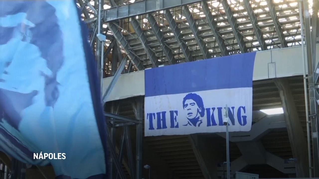 Nápoles inicia proceso para dedicar su estadio a Maradona