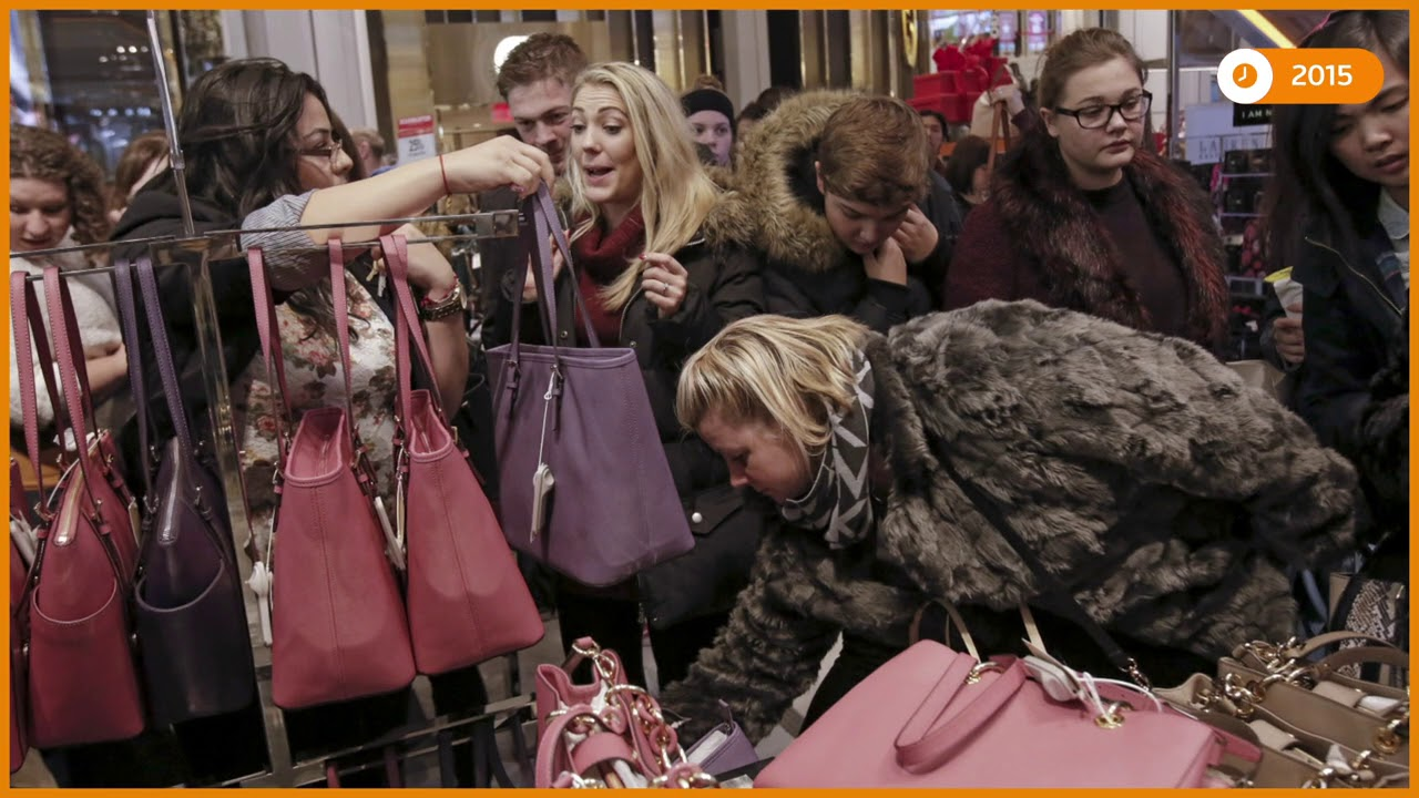 SLIDESHOW: Black Fridays over the last decade