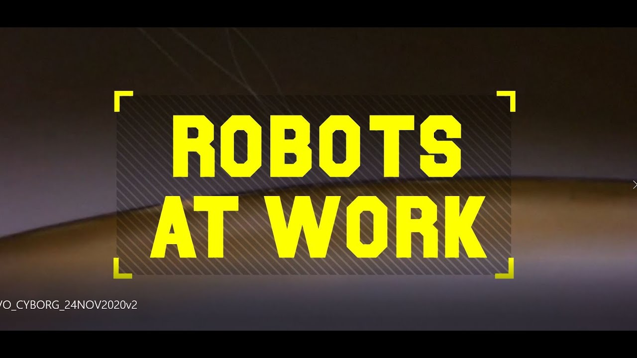Robots at Work: The future is cyborg