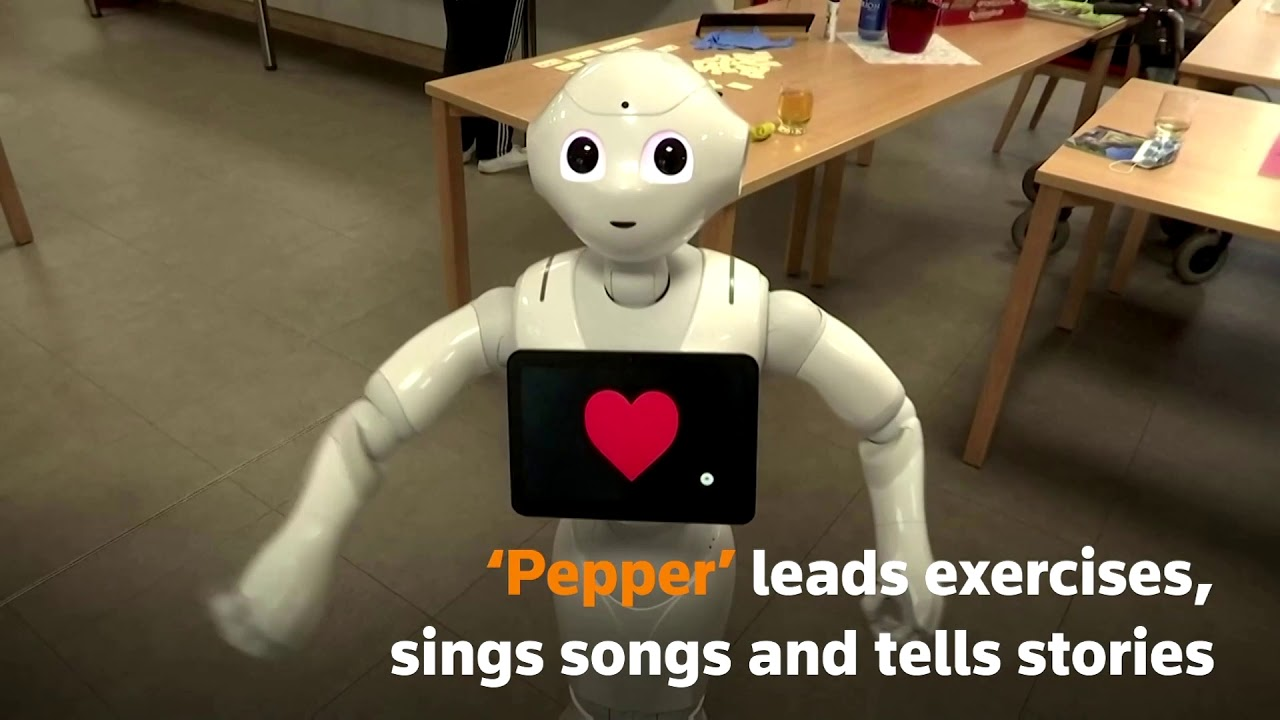 Robots at German care home