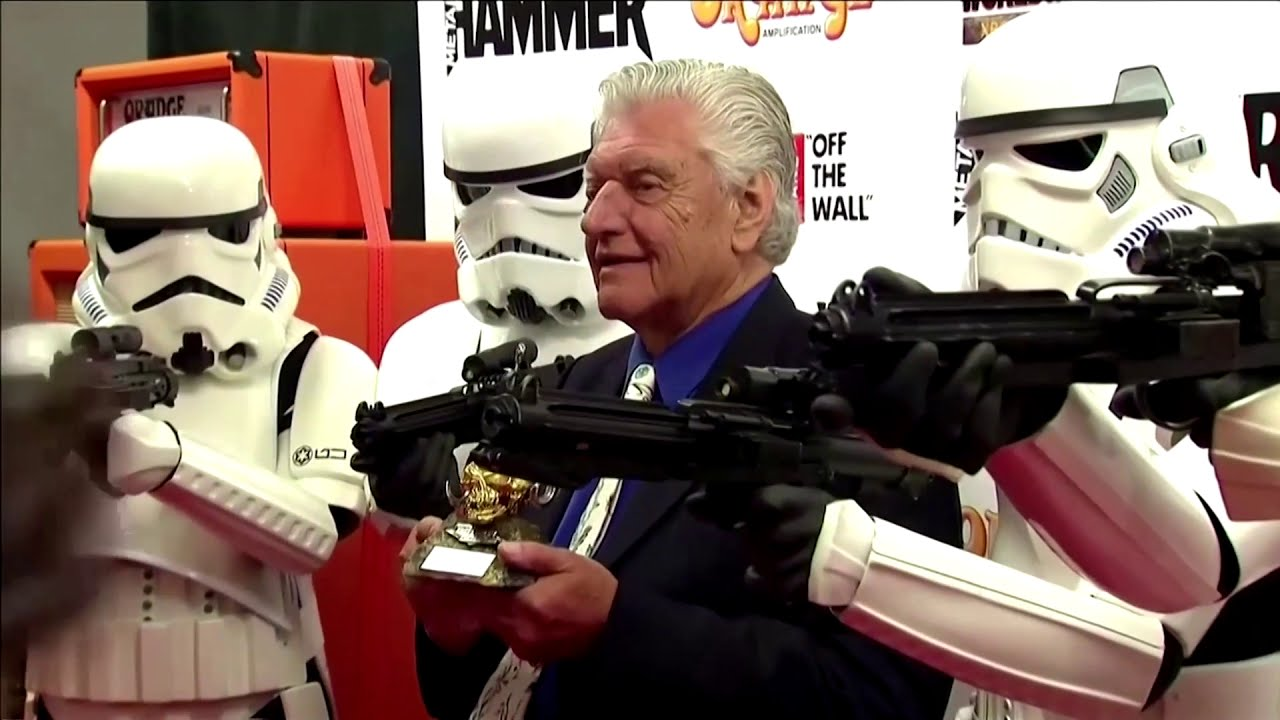 Darth Vader actor David Prowse dies aged 85