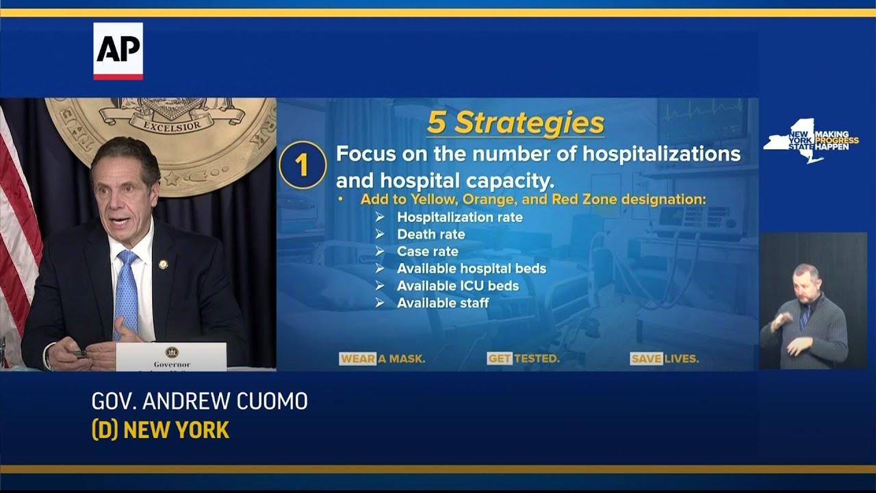 """Cuomo announces """"emergency hospital measures"""""""