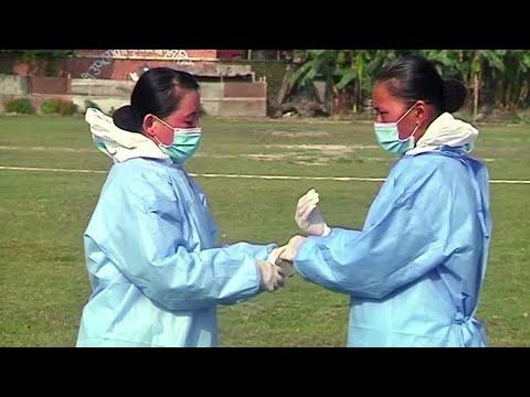 Nepal's female soldiers break taboos amid COVID-19
