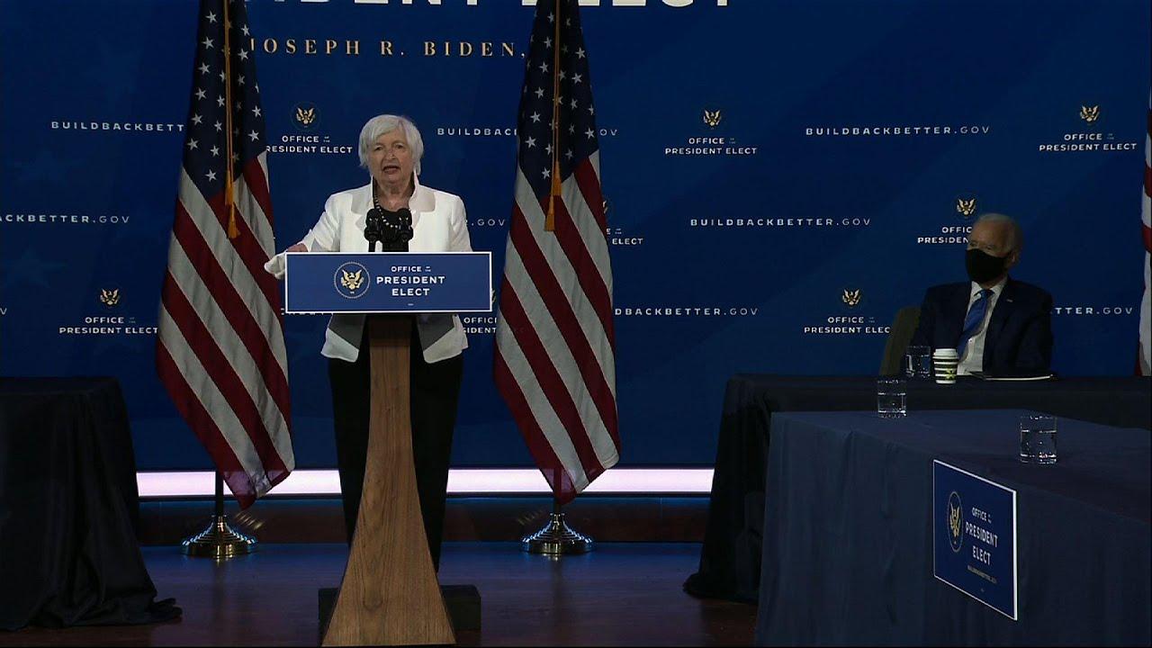 Treasury pick Yellen pledges 'urgent' pandemic help