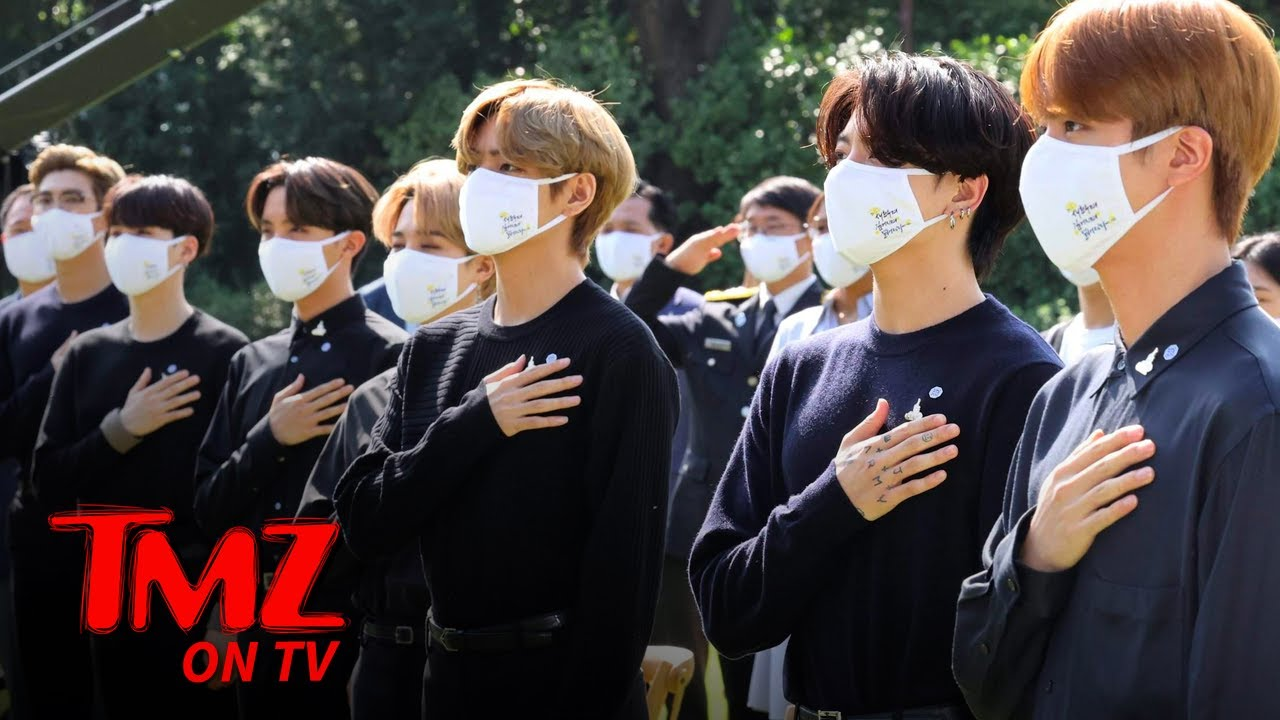 South Korea Passes BTS Friendly Law for Mandatory Military Service | TMZ TV