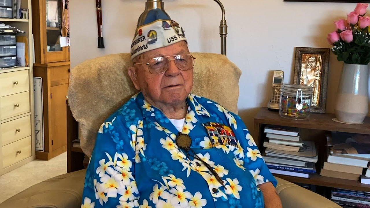 WWII veteran, at 101, recalls Pearl Harbor attack