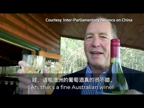Politicians urge people to buy Australian wine to fight China's punitive tariffs