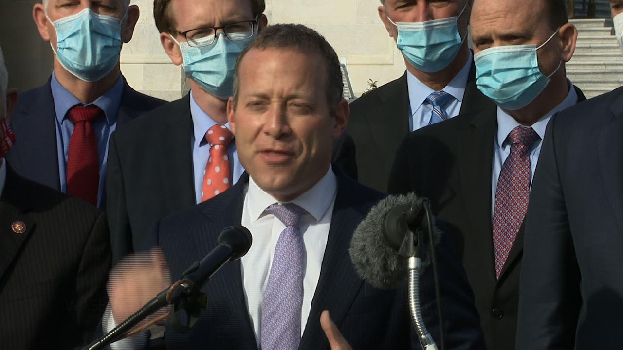 Bipartisan lawmakers tout COVID relief plan