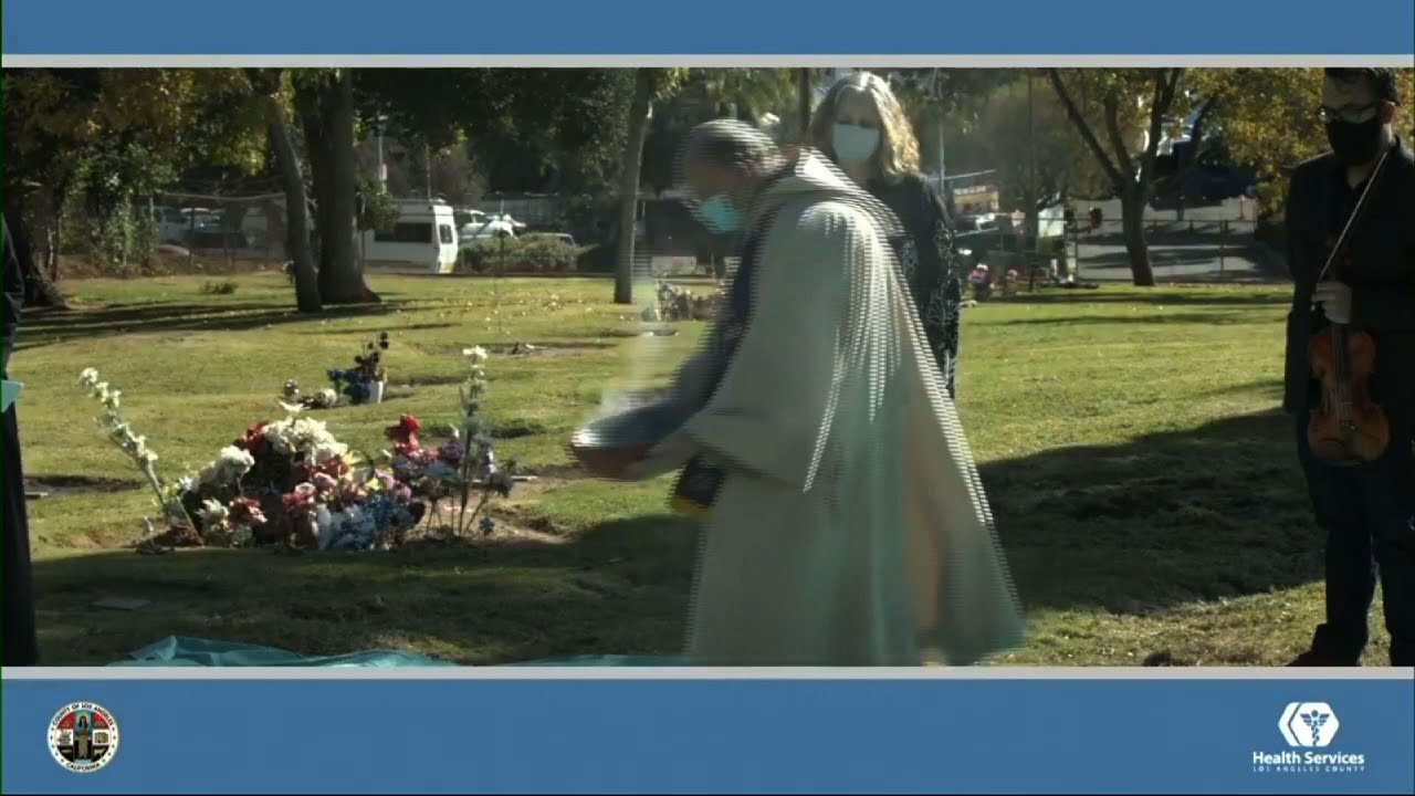 Los Angeles ceremony honors unclaimed dead online