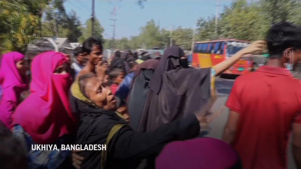 Bangladesh inicia reubicación de refugiados