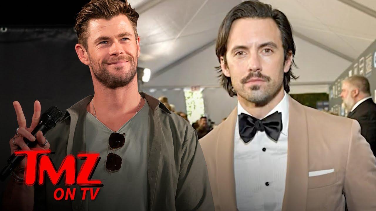 Who'd You Rather  Milo Ventimiglia Vs  Chris Hemsworth? | TMZ TV