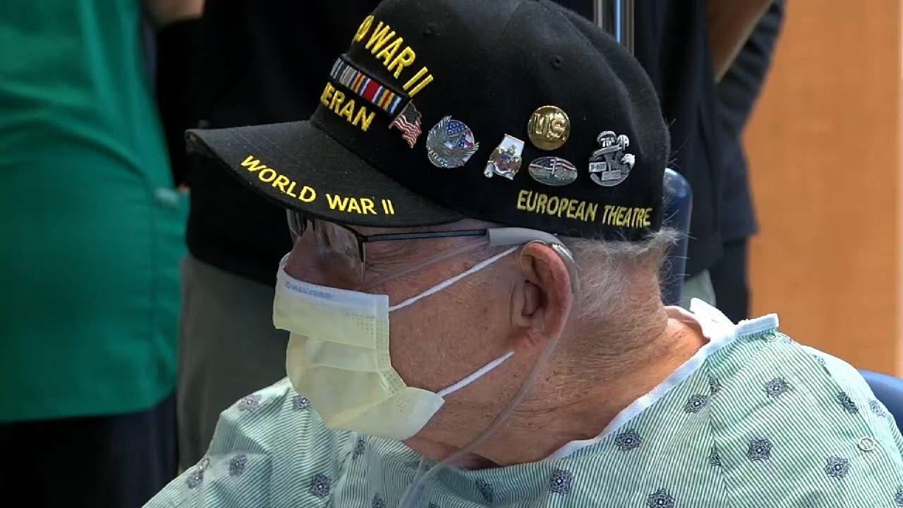 WWII veteran beats COVID-19, marks 104th birthday