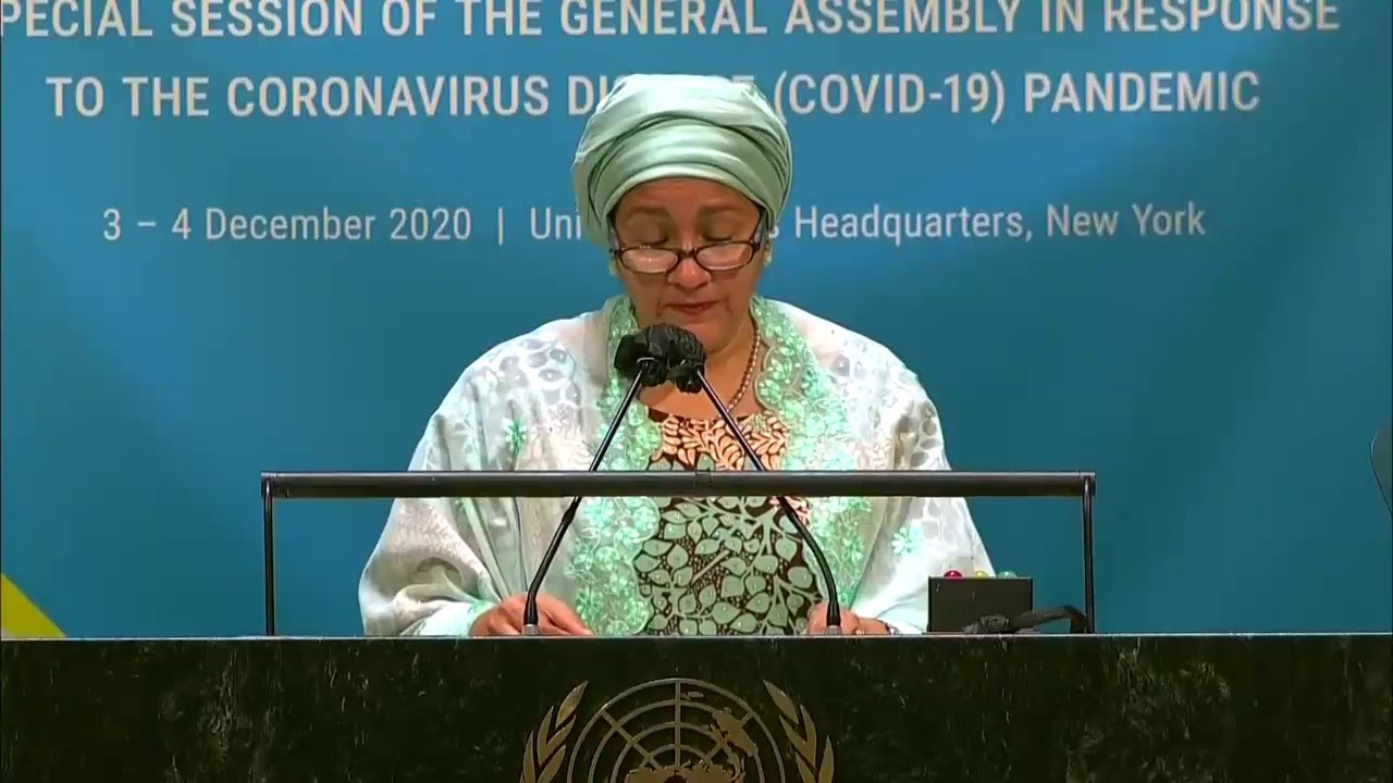 LIVE: Day 2 of the United Nations summit on the coronavirus pandemic