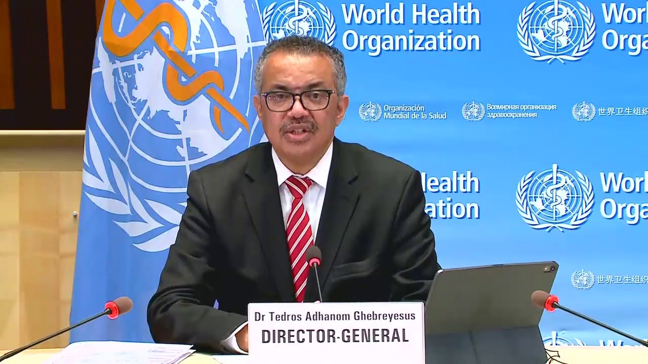 LIVE: The WHO holds a briefing on COVID-19 as global cases near 65 million