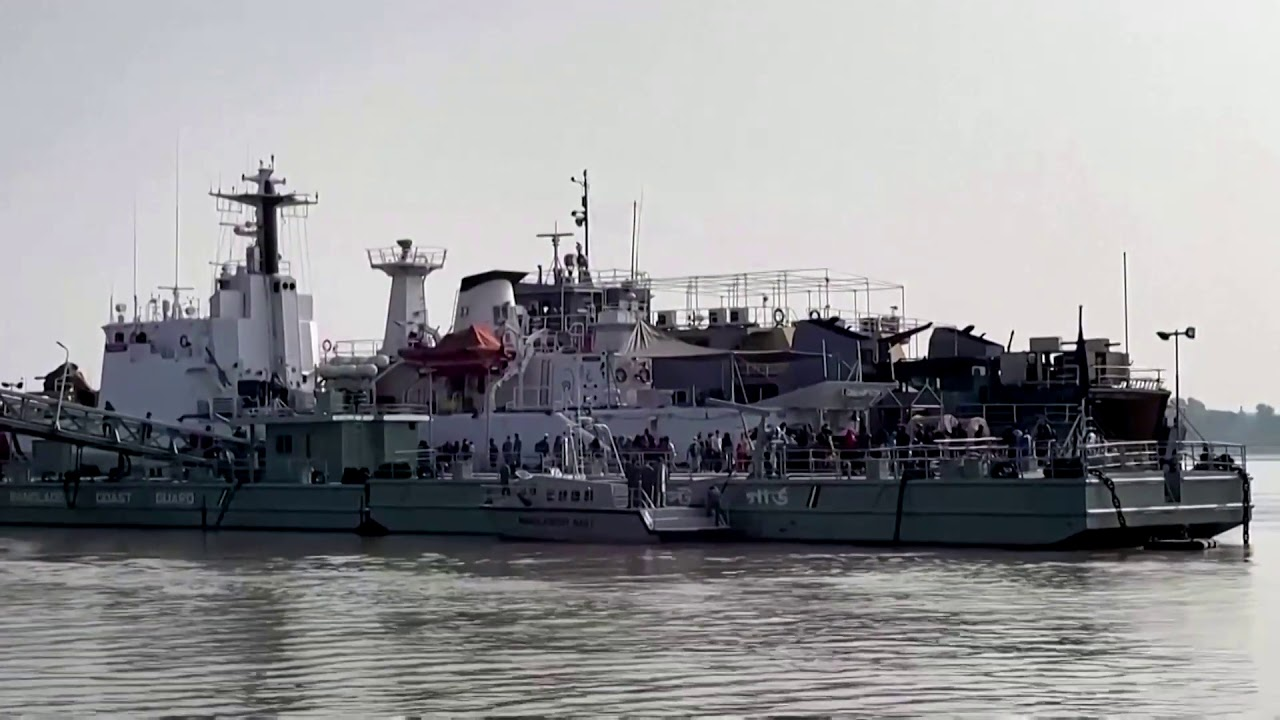 Bangladesh ships Rohingya to remote island