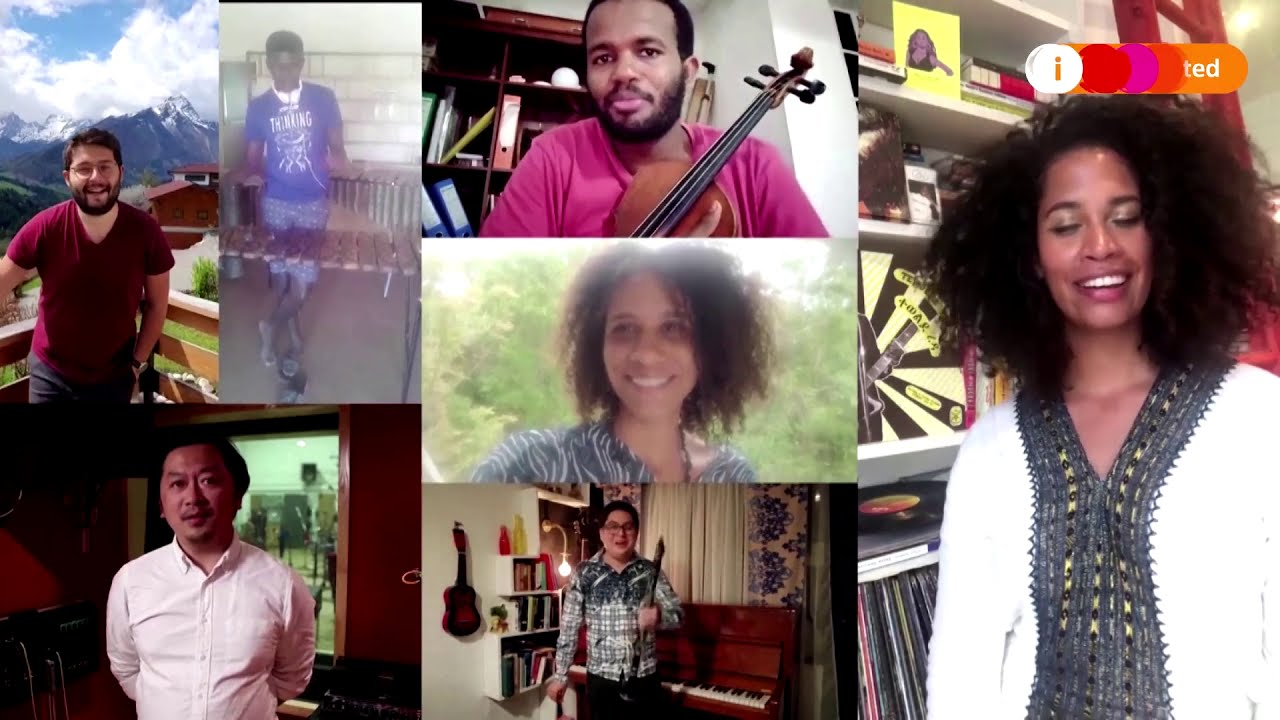 Musicians from 197 countries form Earth Orchestra