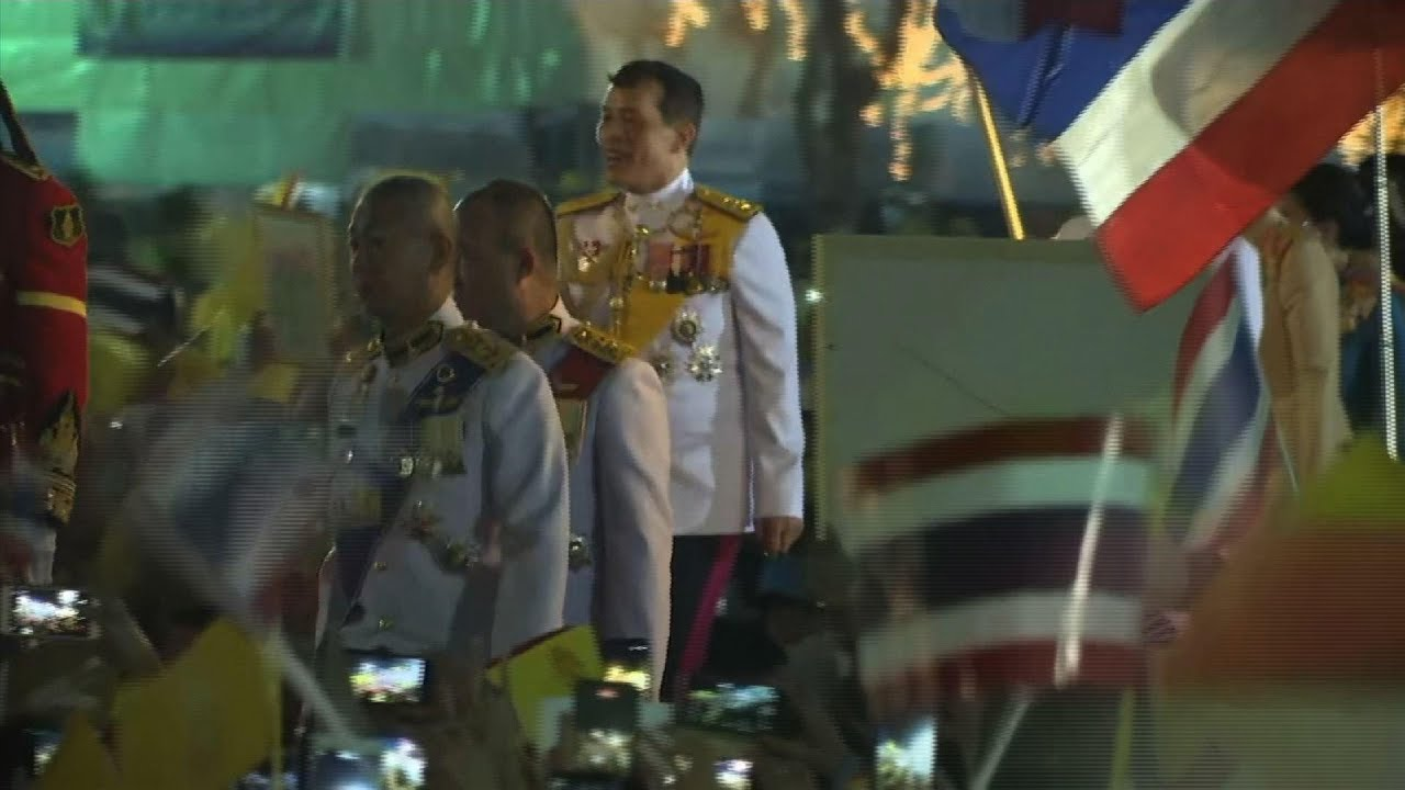 Thai King at ceremony marking his father's birth