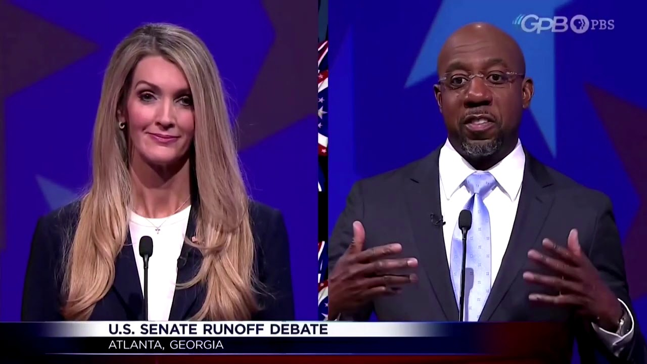 Three candidates, one empty podium at Georgia debate