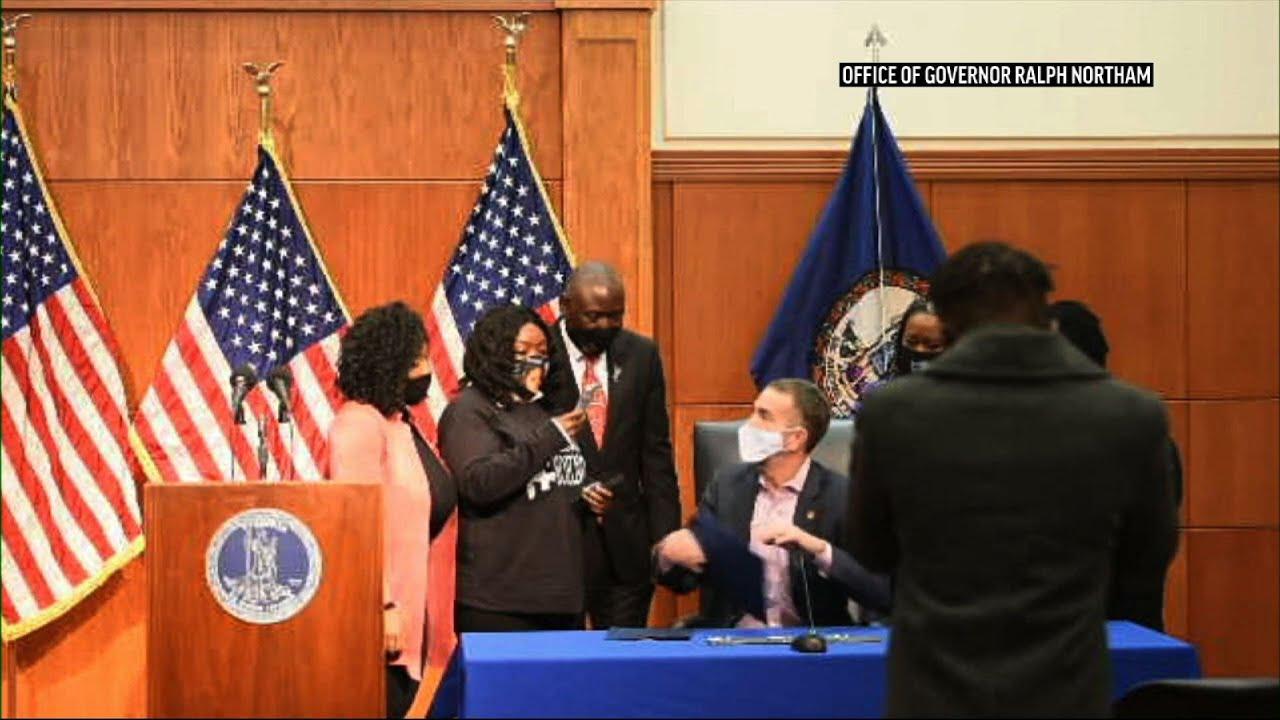 Virginia gov. signs law banning no-knock warrants
