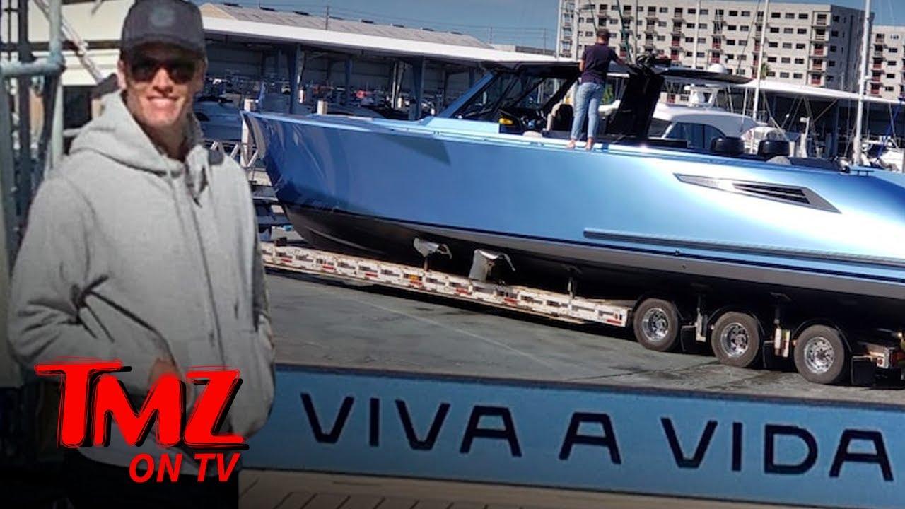 Tom Brady Buys Multi Million Dollar Super Boat | TMZ TV