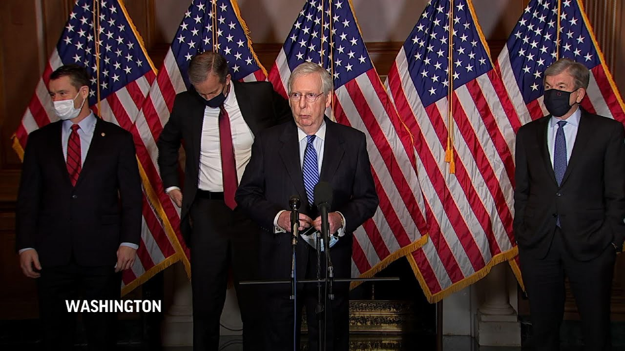 McConnell pushes 'non-controversial' COVID relief