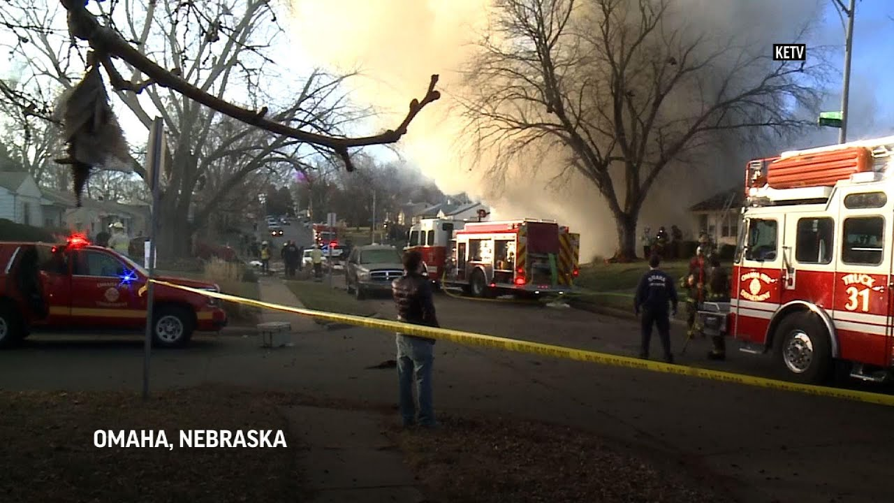 Explosion levels house in Omaha, killing occupant