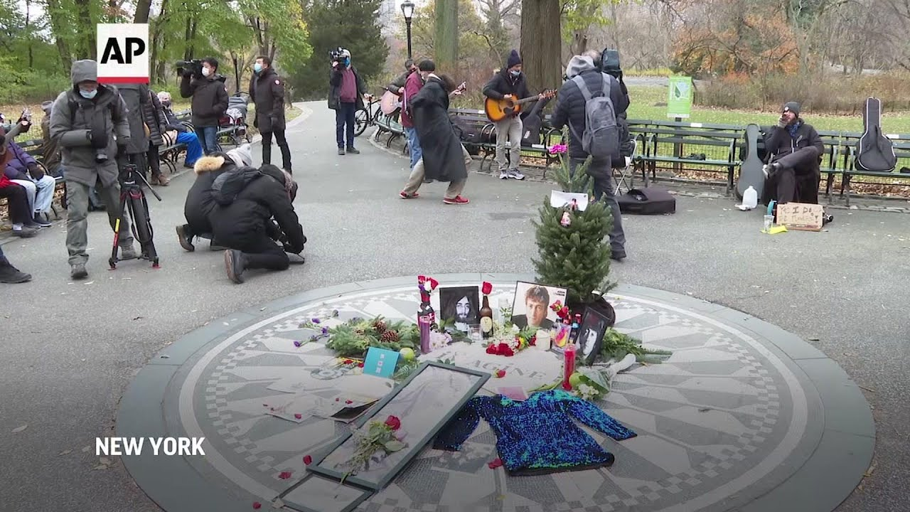 John Lennon remembered on 40th anniversary of death