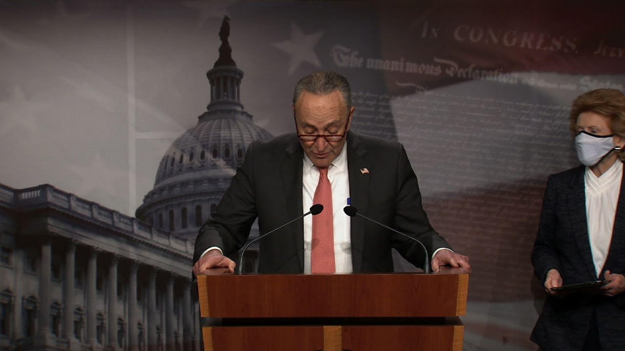 Schumer: McConnell 'sabotaging' COVID relief talks