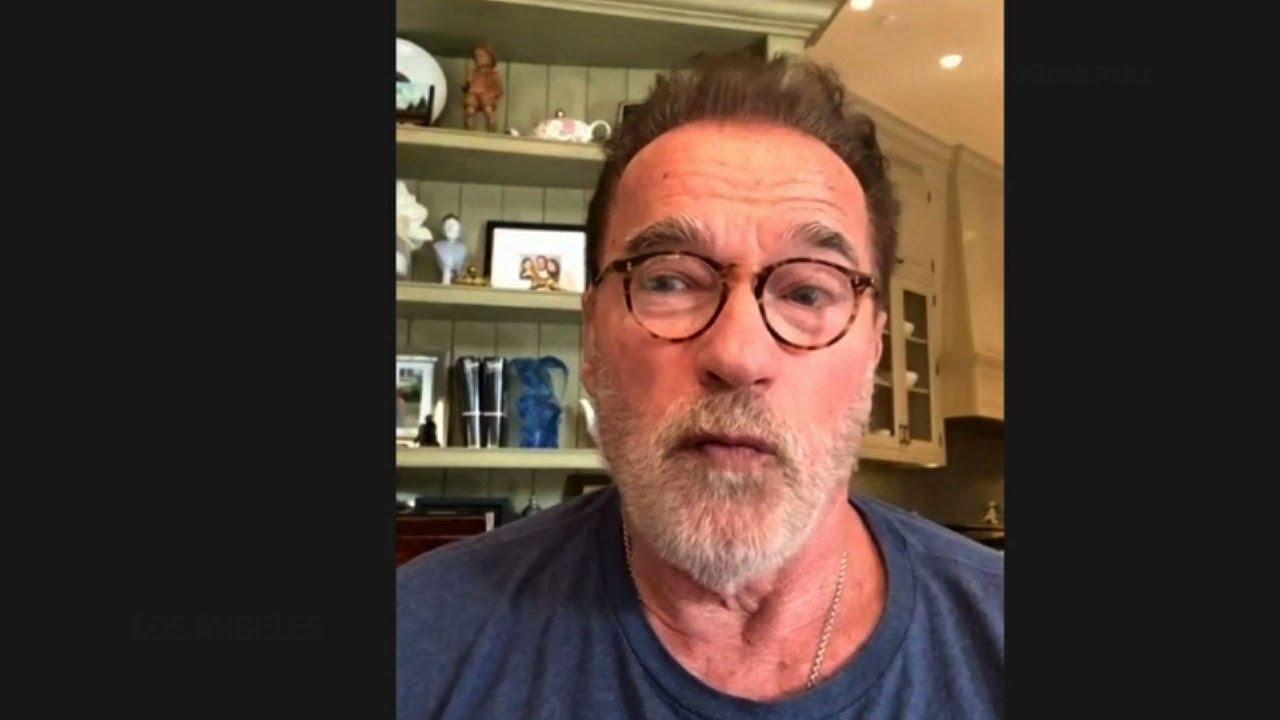 Schwarzenegger praises Georgia secretary of state