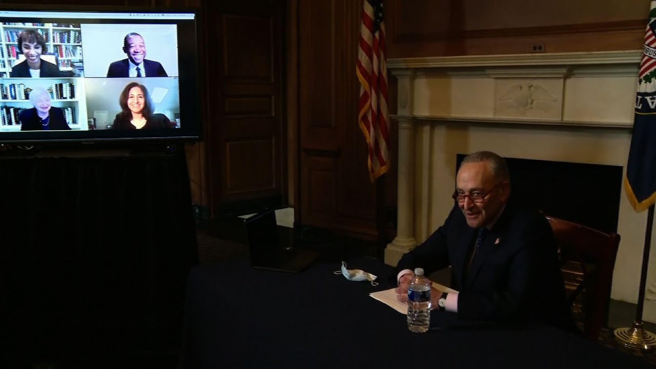 Schumer: McConnell sabotaging bipartisan aid talks