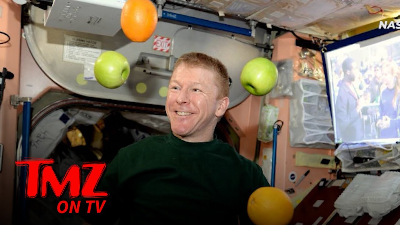 NASA Astronauts Get Holiday Resupply Sent to ISS, Fresh Fruit & Grub | TMZ TV