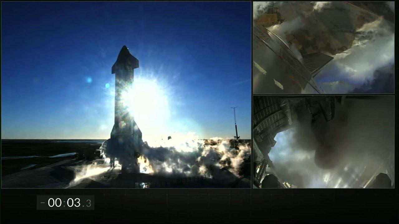 SpaceX Starship crash-lands after test flight