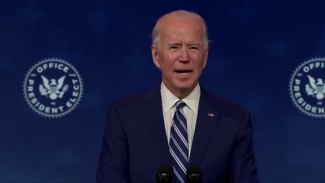 Biden says 'right moment' for Pentagon pick