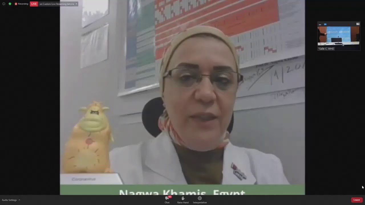 LIVE: The World Health Organization holds an event on managing the COVID-19 'infodemic'