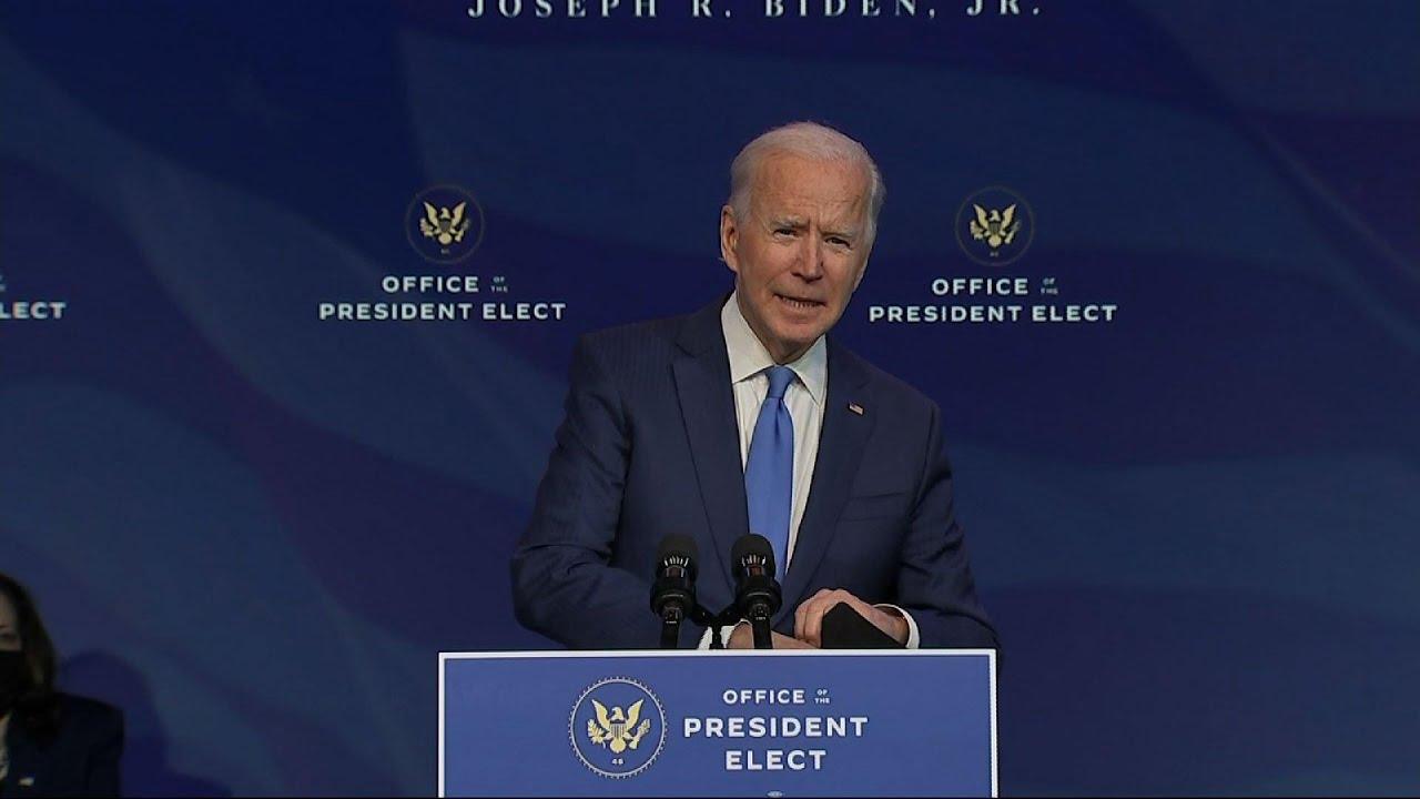 Biden: US needs presidential leadership on virus