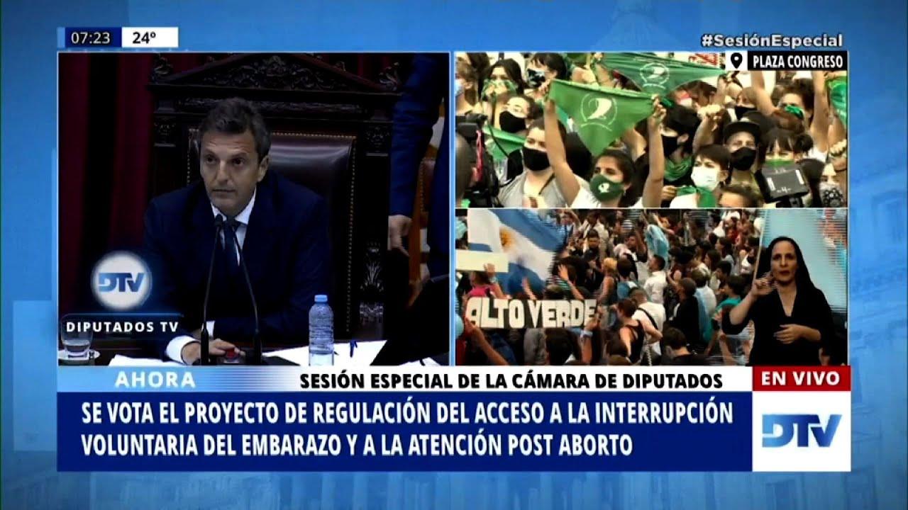 Diputados argentinos aprueban proyecto para legalizar aborto