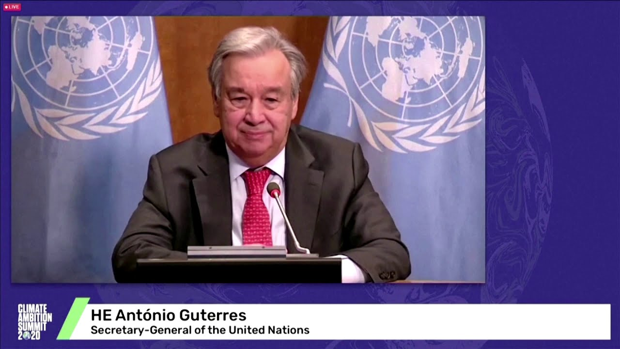 Declare states of 'climate emergency,' U.N. chief says to world leaders